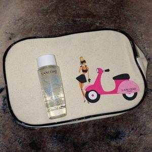 Lancome Bi-Facil face & makeup bag